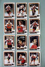 1986-87 Topps Philadelphia Flyers Team Set 12 cards Howe Propp Poulin Kerr NHL