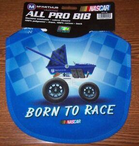DALE EARNHARDT JR #88 BORN TO RACE ALL PRO BABY BIB BRAND NEW !!!!