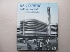 BANDOENG Beeld van een stad R.P.G.A. VOSKUIL E.A. 1996 Hardcover TEXT IN DUTCH