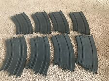 Tyco HO Slot Car Track Banked Curves # B5852 Total 8 pcs