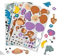 100 Build an Animal Foam Stickers Creative Mix and Match animal Made your way!