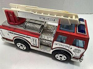 1989 BUDDY L Big Bruiser Pumper Fire Truck, Siren & Lights, Plastic/Metal