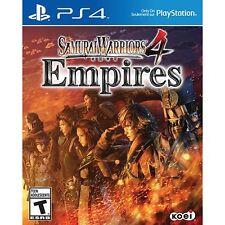 Samurai Warrior 4 Empires  Ps4 Playstation 4 Brand NeW !