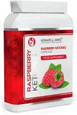 RASPBERRY KETONES 1000mg Vegetarian  Vegan Friendly Fat Burning Capsules  Max