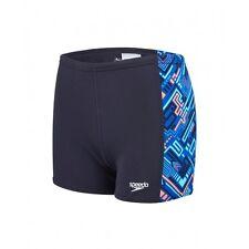 Bañador Speedo, natación, boxer, niño, talla 4, azul, resistente al cloro. NUEVO