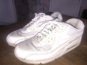 Nike Air Max white uk Size 9  Used