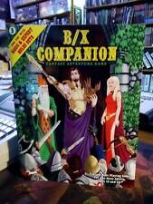 Original Classic D&D B/X Companion For Tom Moldway Basic & Expert Sets Old Schoo