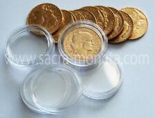 10 Capsules rondes pour Pièces de 20 Francs Or