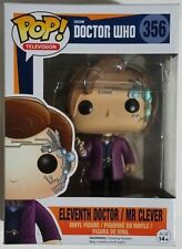 Funko POP Eleventh Doctor w/ Clever #356 Doctor Who Vinyl Figure