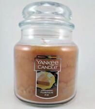 Yankee Candle Pumpkin Pie Scented Candle 14.5 oz Medium Jar FREE PRIORITY