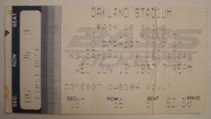 "U2/Oasis ""POPMART TOUR"" Concert Ticket Stub Oakland Stadium Ca. 1997"