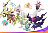 SHINY 6IV Event Pack Arceus Darkrai Genesect Mew + MORE! Pokemon ULTRA SUN MOON