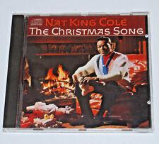 Nat King Cole The Christmas Song Album CD xmas Capitol 1986 R&B 14 tracks vocal