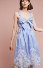 NEW Anthropologie $178 Uma Embroidered Dress by Foxiedox Size Small