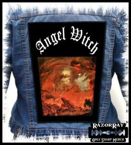 ANGEL WITCH - Angel Witch --- Huge Jacket Back Patch Backpatch