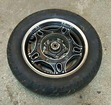 1981 Honda CB CB900 REAR Wheel Rim Tire Brake Rotor CB900C ....GOOD TIRE!!