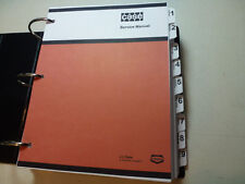 Case 1280/1280B Excavator Service Manual Repair Shop Book NEW with Binder