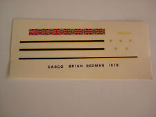 DECALS KIT 1/12 BRIAN RESMAN PORSCHE  F1