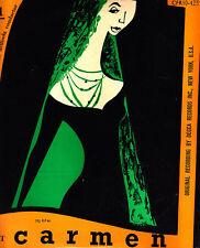 Carmen-Suite No 1 & 2-Stadium Concerts-Original-10'-Record LP
