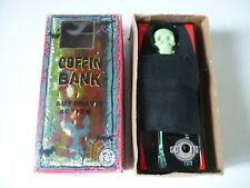 Jouet en tôle Wind-Up Automate action Coffin Bank / Made in Japan