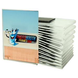 2.5 x 3.5 Wallet Size Magnetic Picture Frames (12 Lot) Strong Magnet
