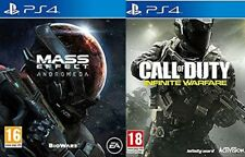 Mass Effect Andromeda  &  call of duty infinite warfare  new&sealed PS4