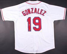 Juan Gonzalez Signed Texas Rangers Jersey (MAB Hologram) AL MVP 1996 & 1998
