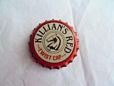 Vintage Killian's Red Beer Twist Cap Battery Light Up Advertising Pin Pinback