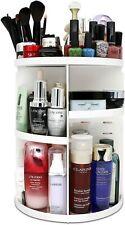 360 Degree Rotating Makeup Organizer, Adjustable Multi-Function Cosmetic Storage