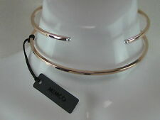 BRAND NEW MIMCO DOUBLE TROUBLE ROSE GOLD CHOKER WITH JEWELLERY POUCH RRP$149