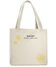 Marc Jacobs Fragrance Tote Shoulder Purse Daisy Flower Bag Canvas F