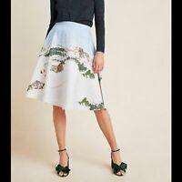 New Anthropologie Corey Lynn Calter Wonderland Skirt Size 1X