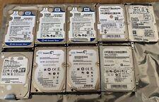 """Konvolut interne HDD Festplatten (9x), 2.5"""",u.a. WD, Seagate, Samsung, 320GB-1TB"""
