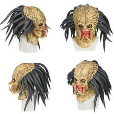 XCOSER Predator Mask Latex Horror Movie Cosplay Mask for Halloween Party Adults