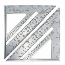 Metric Aluminum Alloy Speed Square Triangle Angle Protractor Layout Guide nice r