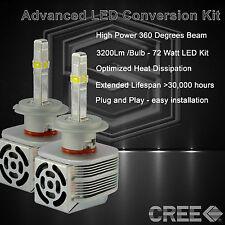 360 Degree Beam - New Gen CREE LED 6400LM Head Light Kit 6k 6000k - H7 (C)
