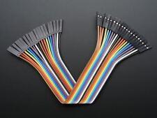 """Adafruit Premium Female/Female Jumper Wires - 20 X 6"""" (150 mm) [ADA1950]"""