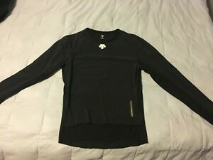 Descente Power Compo LS Wind Mesh Base Layer - Large, late 90's/early 2000's