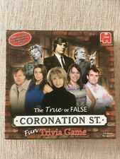 Coronation Street True Or False Trivia Board Game,