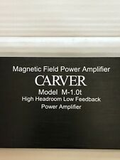 Carver M-1.0t Faceplate BLACK with Handles, Spacers & Hardware