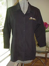 NBC Studio Staff Employee Embroidered Shirt Blouse M/L -Shops at 30 Rock