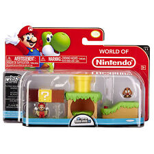 Nintendo Super Mario Bros U Micro Land Yoshi Layer Cake Desert 3 Piece Pack X2