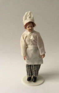 Dolls House Chef - 13 cm