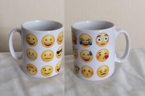 Emoticon Mug - Various Emoji's. Fun Emoji Mugs Are A Great Gift For Christmas