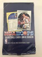 1990-91 NBA Hoops Series One Basketball - Sealed Box - Featuring Menendez Bros