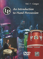 Introduction to Hand Percussion Vol 1 Congas Tuition DVD Learn How To Play