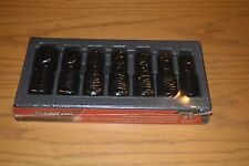SNAP ON 1/2 DRIVE IMPACT UNIVERSAL SWIVEL METRIC SOCKET SET 307IPLMY NEW  $485