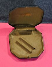 """""""Gillette""""  Original  Blue  Metal  box  Only   Made in US c.1950's"""
