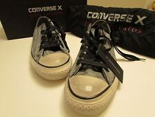 NEW Converse X John Varvatos Chuck Taylor Ox Black /Beluga Size Men 7 Women 9