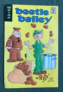 Beetle Bailey  King Bronze Age Beto El Recluta English Spanish Special g/vg